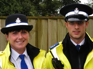 Paula Johnson and John Midgley - Police Community Support Officers